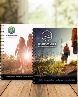Beskydské turistické deníky / výletníky – Moravskoslezské Beskydy I a II